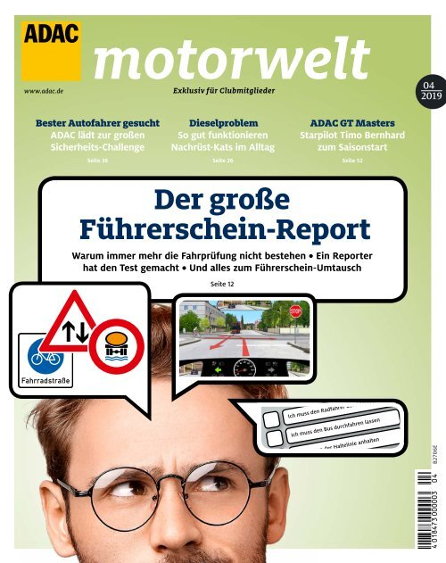 ADAC Motorwelt April 2019