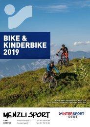 Bike und Kinderbike Broschüre 2019