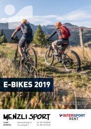 E-Bike Broschüre 2019