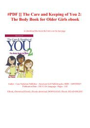 the care and keeping of you 2 pdf download