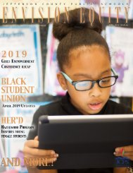 April 2019 Edition of Envision Equity