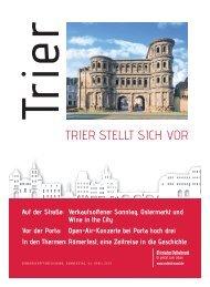 Trier stellt sich vor - April 2019