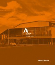 Allied Retail Centers Brochure