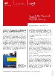Kulturelle Mitte Darmstadt Veranstaltung 8.4.2019
