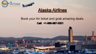 Alaska Airlines Phone Number @ www.myairticketbooking.com/alaska-airlines-phone-number.html