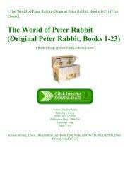 ^READ) The World of Peter Rabbit (Original Peter Rabbit  Books 1-23) [Free Ebook]