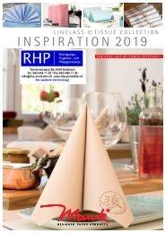 Das Mank Servietten & Tischtücher Sortiment der RHP AG