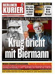 Berliner Kurier 01.04.2019