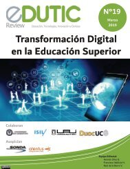 EDUTIC Review Transformación Digital