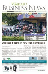 Waikato Business News March/April 2016