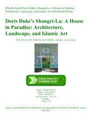 [EbooK Epub] Doris Duke's Shangri-La A House in Paradise Architecture  Landscape  and Islamic Art (Download Ebook)