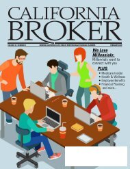CALIFORNIA BROKER Vol. 37, Number 5