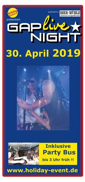 Gap Live Night 2019