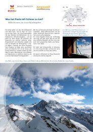 Tourentipp 03.2019- Skihochtouren im Gran-Paradisogebiet