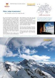 Proposition de la sortie 03.2019 - Ski d'altitude autour du Grand Paradis