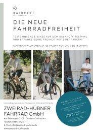 Zweirad Hübner - Kalkhoff