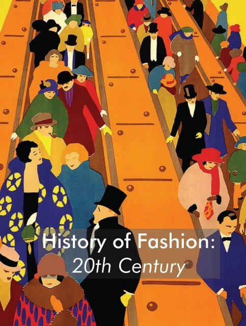 History Of Fashion 20th Century Spreads