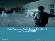 Augmented Reality Gaming Market: Global Trends, Share, Size and Forecast Till 2019-2024