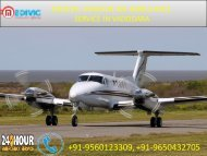 Best Air Ambulance service in Vadodara and Udaipur by Medivic Aviation