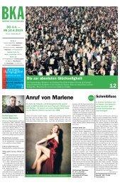 Berner Kulturagenda N°13