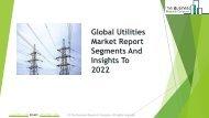 Utilities Global Market Report 2019