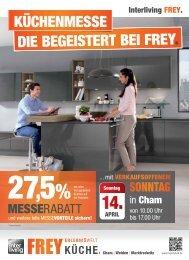 Interliving FREY - Küchenmesse - Die begeistert bei FREY