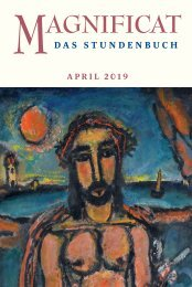 MAGNIFICAT April 2019