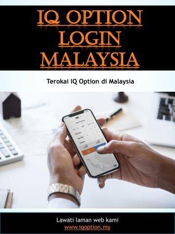 Iq Option Login Malaysia