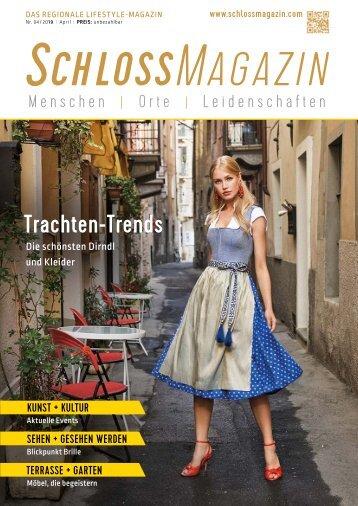 SchlossMagazin April 2019 Bayerisch-Schwaben und Fünfseenland