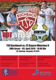 Stadionzeitung TSV Buchbach - FC Bayern München II