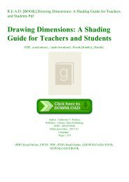 R.E.A.D. [BOOK] Drawing Dimensions A Shading Guide for Teachers and Students Pdf