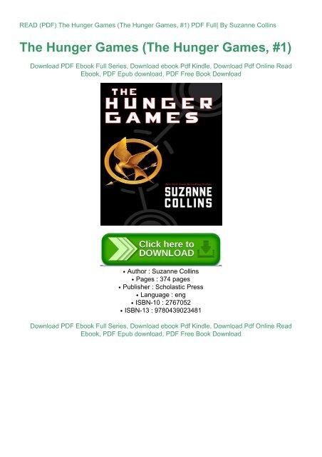 hunger games 1 pdf free download