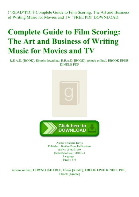 tv guide free movies ebook