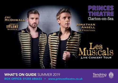 Princes Theatre, Clacton - Summer 2019 Brochure