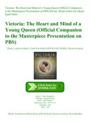 ^R.E.A.D.^ Victoria The Heart and Mind of a Young Queen (Official Companion to the Masterpiece Presentation on PBS) Ebook  Read online Get ebook Epub Mobi