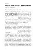 Wohnen - Raum erfahren - Zum Kultusportal - Seite 6