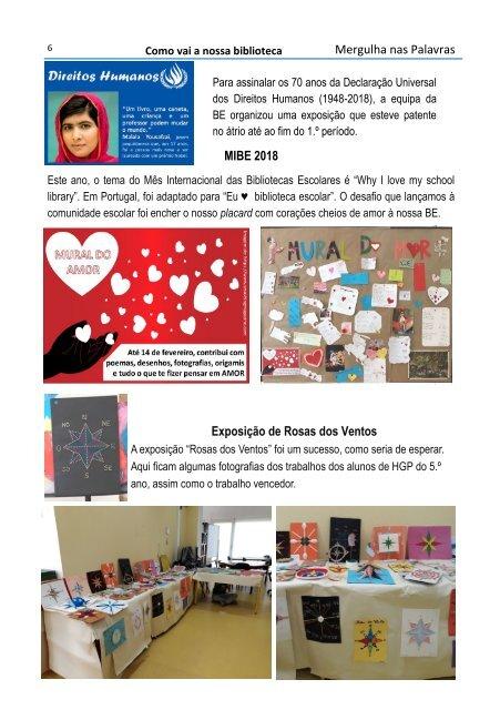 Revista Mergulha nas palavras n.º 5 - Março-2018-2019