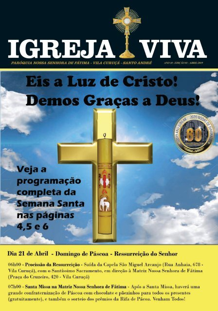 Revista Digital Igreja Viva Edição Abril 2019