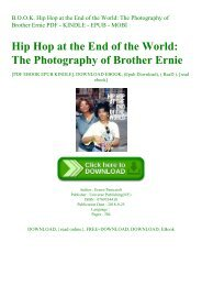 READ B.O.O.K. Hip Hop at the End of the World The Photography of Brother Ernie PDF - KINDLE - EPUB - MOBI