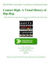 !READ NOW! Contact High A Visual History of Hip-Hop Full Pages