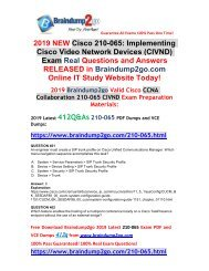 (April-2019-Version)New CIVND 210-065 PDF and 210-065 VCE Dumps 412Q&As Free Share(Q401-Q407)