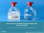 Acetic Acid Market By End-Use, Trends, Growth, Share, Size & Forecast