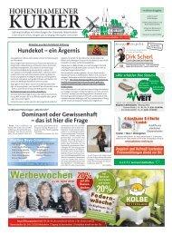 Hohenhamelner Kurier 04.04.19
