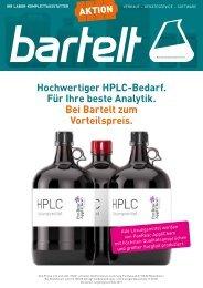Bartelt HPLC-Jahresaktion