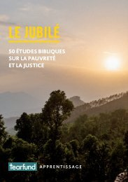 Jubilé : 50 études bibliques sur la pauvreté et la justice
