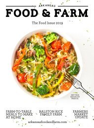 Arkansas Food & Farm Food Issue 2019