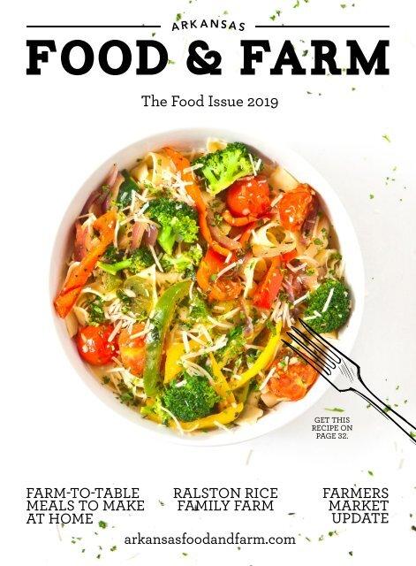 Arkansas Food & Farm Food Issue 2019