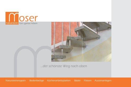 Moser Naturstein - Prospekt