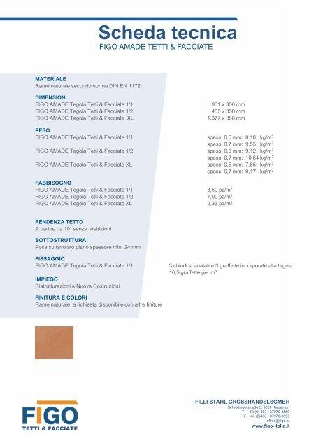 FIGO Amade Produktdatenblatt CU IT