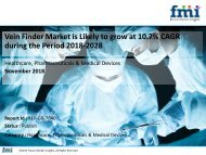 Vein Finder Market is Likely to grow at 10.7